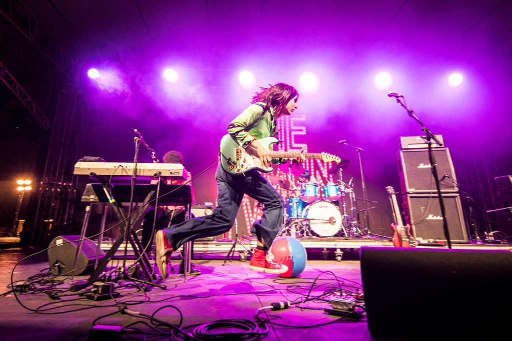 The Lemon Twigs perform at Bonnaroo Music & Arts Festival in Manchester, TN, USA on June 8, 2017