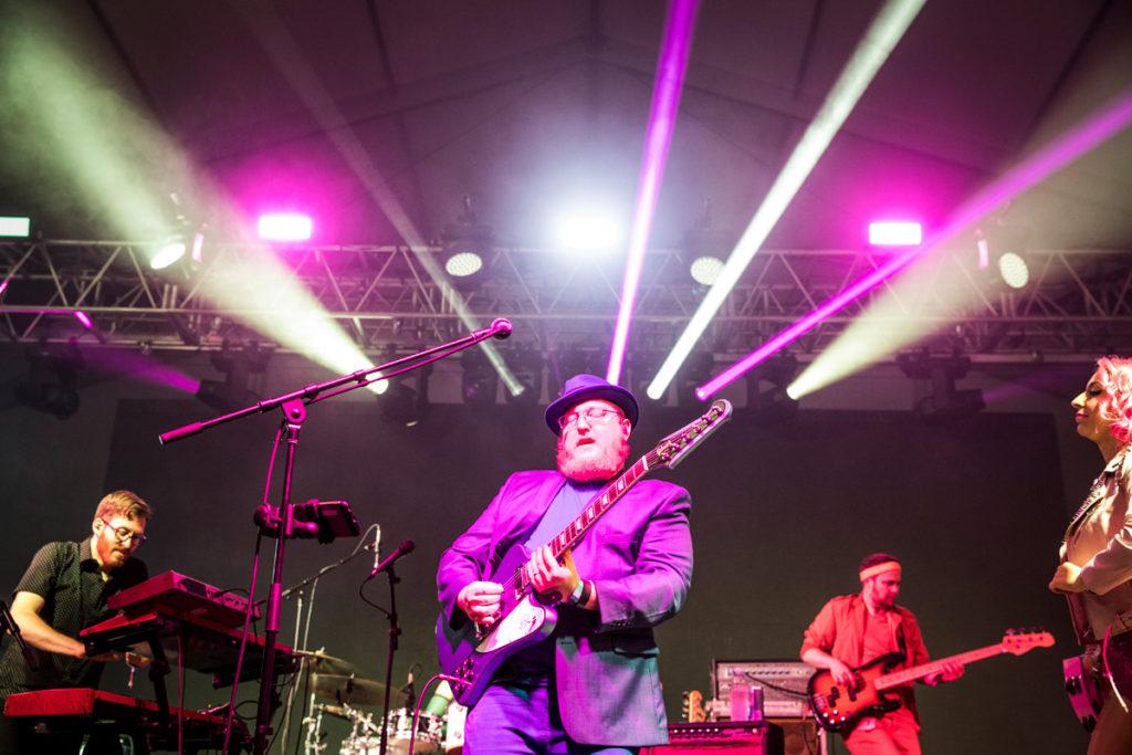 Turkuaz perform at Bonnaroo Music & Arts Festival in Manchester, TN, USA on June 8, 2017
