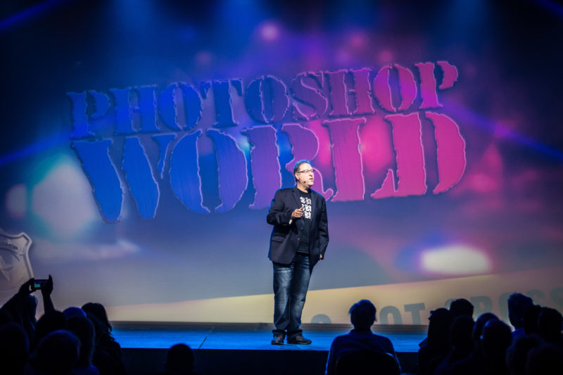 Scott Kelby at Photoshop World Conference in Orlando, Florida