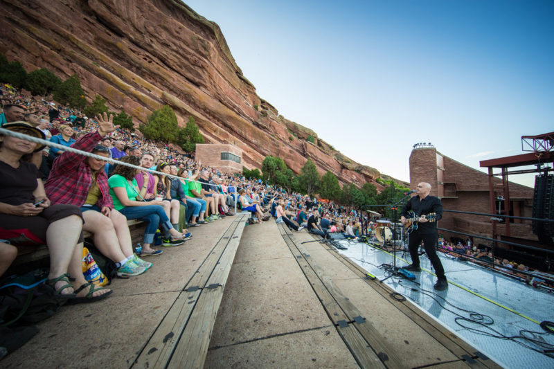 Peter Furler performs on June 14, 2015 at Red Rocks Amphitheater in Morrison, Colorado
