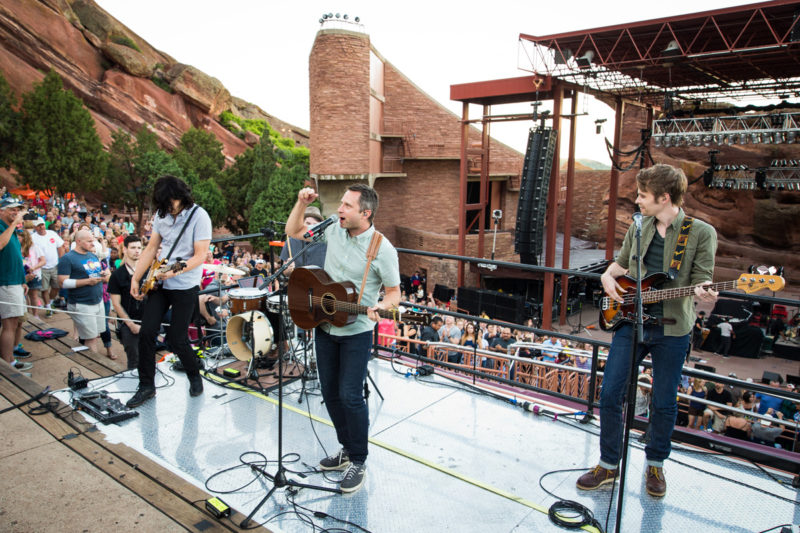 Brandon Heath performs on June 14, 2015 at Red Rocks Amphitheater in Morrison, Colorado