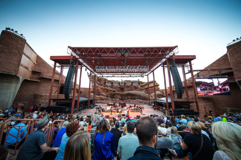 Matt Maher performs on June 14, 2015 at Red Rocks Amphitheater in Morrison, Colorado