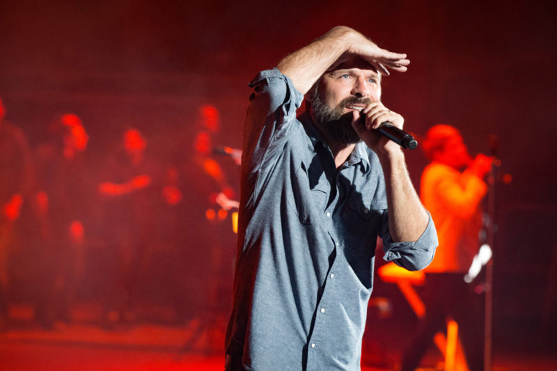 Mac Powell of Third Day perform on June 14, 2015 at Red Rocks Amphitheater in Morrison, Colorado