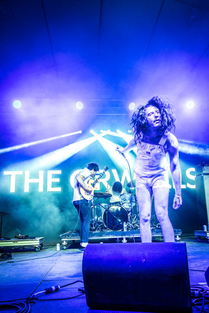 The Orwells perform at Bonnaroo Music & Arts Festival in Manchester, TN, USA on June 8, 2017