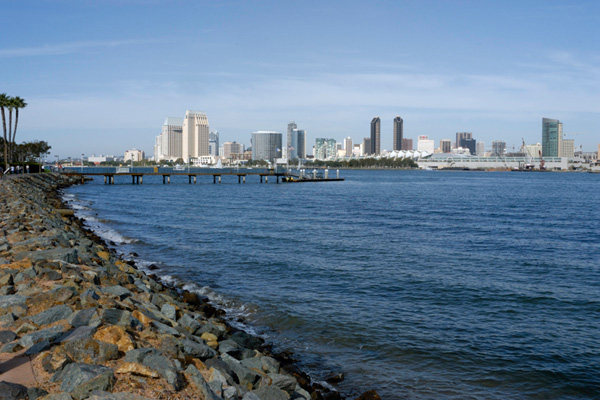 View of San Diego from Coronado Island