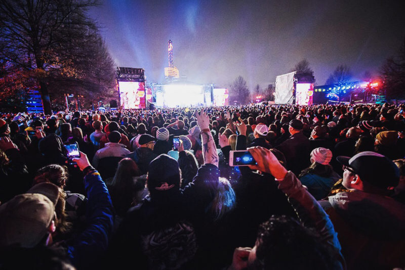 Jack Daniel's Music City Midnight: New Year's Eve in Nashville at Bicentennial Mall State Park with Keith Urban