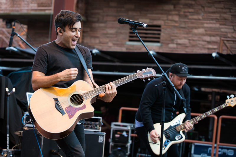 Phil Wickham performs on June 14, 2015 at Red Rocks Amphitheater in Morrison, Colorado