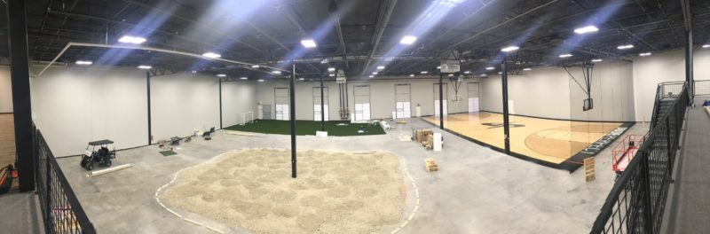 Dude Perfect Headquarters in Frisco, Texas, still under construction